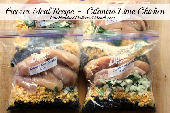 Freezer-Meal-Recipe-Cilantro-Lime-Chicken