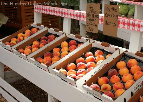 freestone peaches