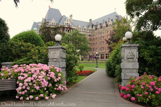 the empress hotel victoria b.c.