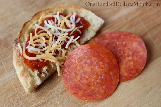 bento Box ideas mini pizza