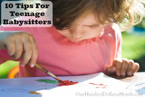 10 Tips For Teenage Babysitters