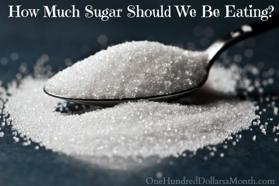How Much Sugar Should We Be Eating