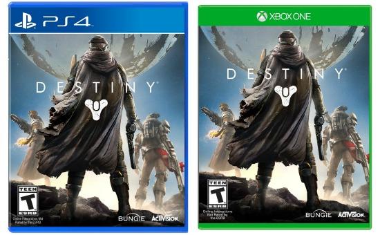 DESTINY XBOX ONE PS4