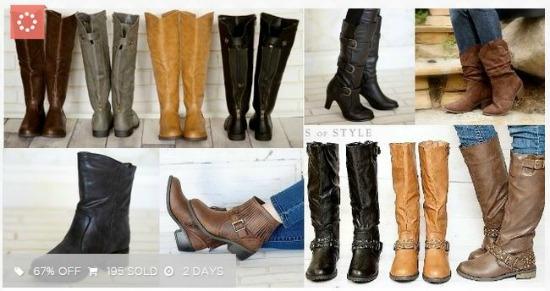 jane blowout boot sale