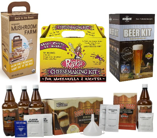 rootbeer cheese beer mushroom kit