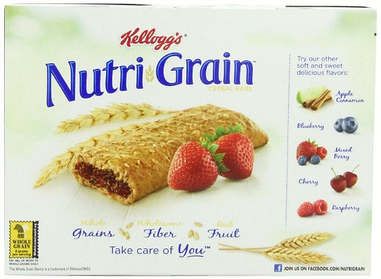 strawberry nutri grain bras