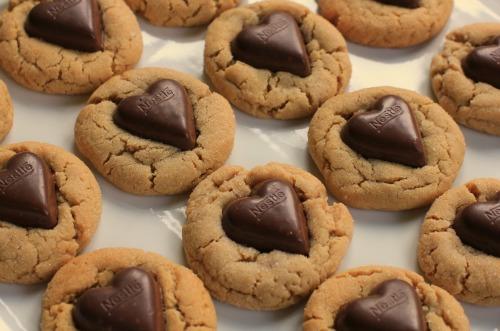Chocolate-Heart-Peanut-Butter-Cookies