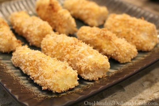 Kid-Approved Crunchy Fish Sticks