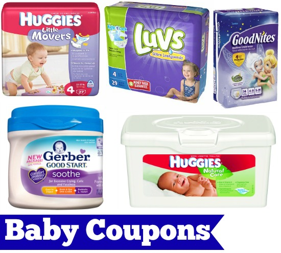baby diaper coupons
