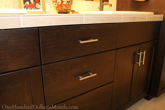 maple espresso bathroom cabinets