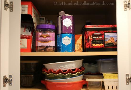 white kitchen cupboard pantry