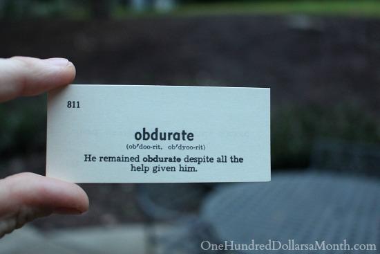 obdurate