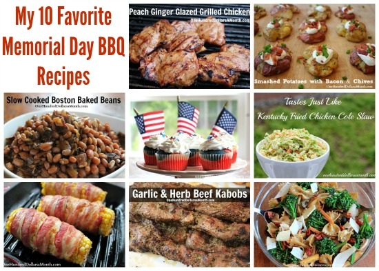 Memorial Day BBQ Recipes