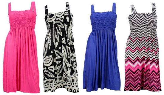 tube top dresses
