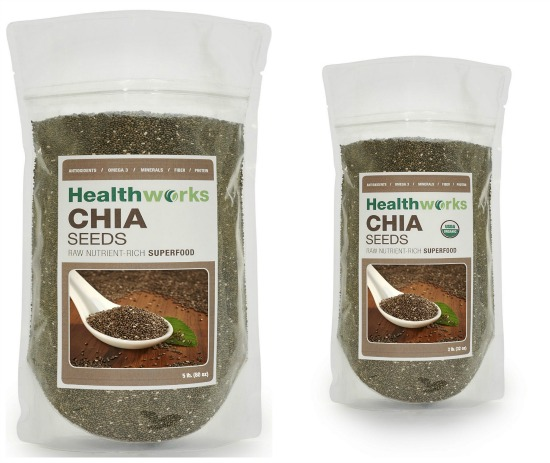 Healthworks Chia Seeds 5 Pounds