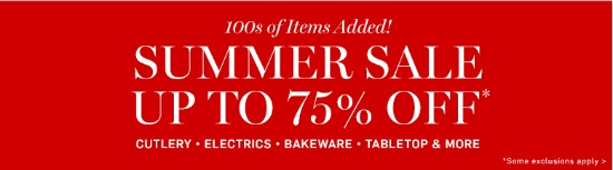 williams-sonoma sale