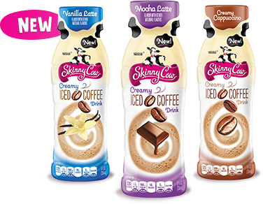 FREE 8 ounce bottle of Skinny Cow Creamy Iced Coffee