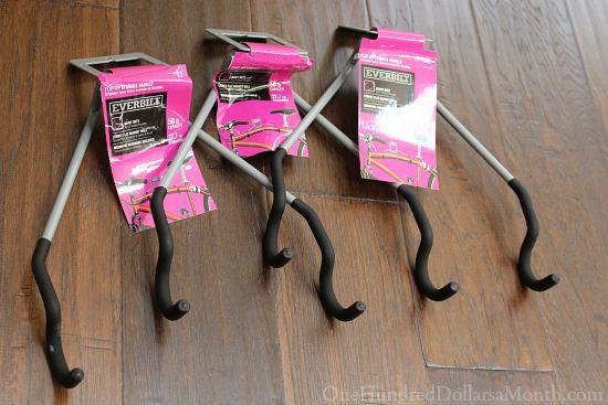 sturdy bike hooks