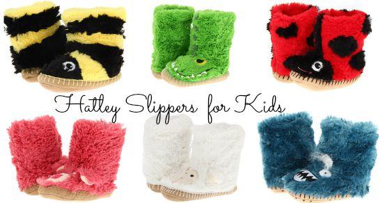 Hatley slippers for kids