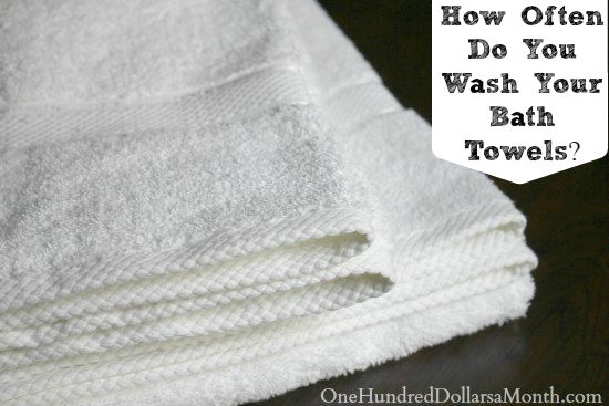 How Often Do You Wash Your Bath Towels