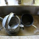 Water Saving Tip – Use Your Dishwater to Water Your Flower Garden