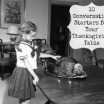 10 Conversation Starters for Your Thanksgiving Table