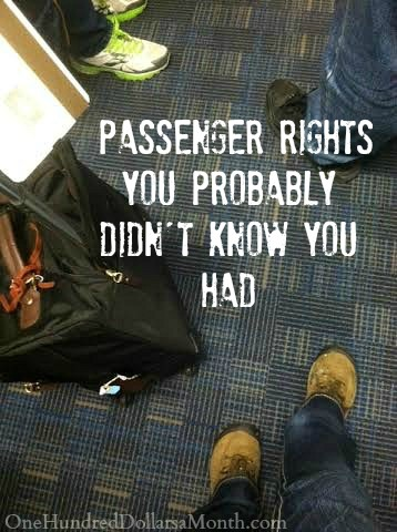 7 Airline Travel Tips - Passenger Rights You Probably Didnt Know You Had