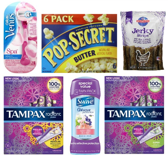 deals on tampons