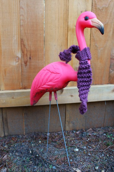 pinky the flamingo