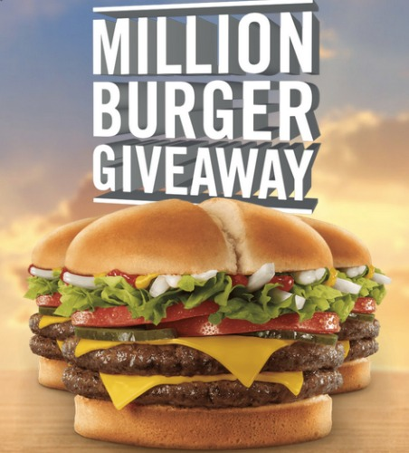 free jack in the box burger