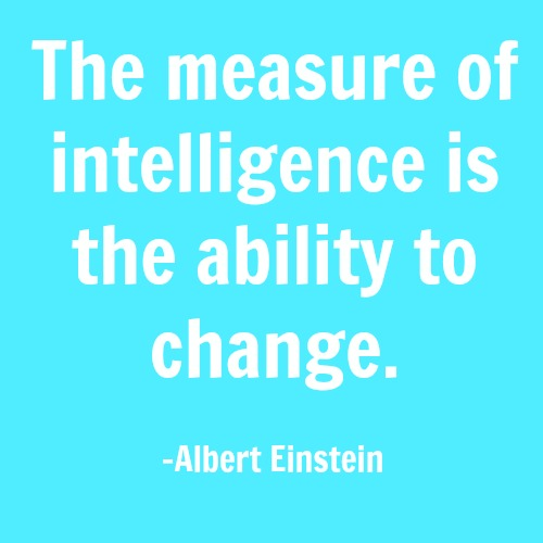 quotes - the measure of intelligence