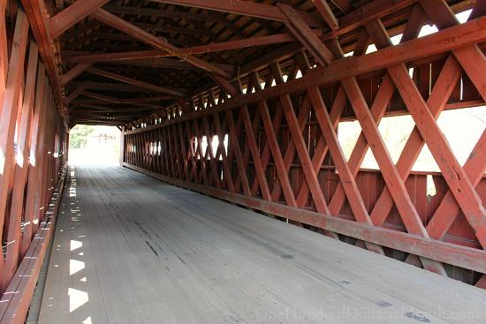 3 Covered Bridges in Northfield, Vermont