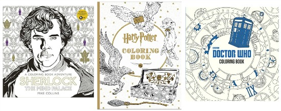 sherlock coloring books