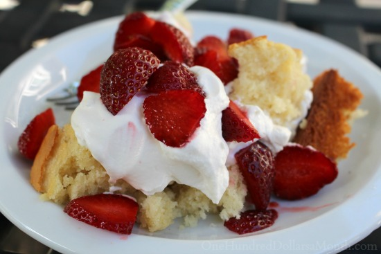 Strawberry Sheet Shortcake recipe