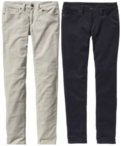 Patagonia Fitted Corduroy Pants