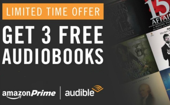 audible prime offer audio