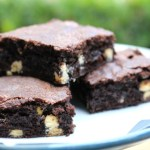 Chewy White Chocolate Chip Brownies