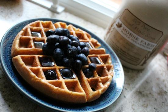 blueberry-waffle