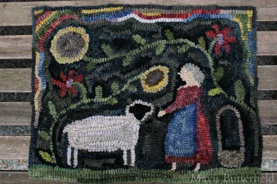 hooked-rug