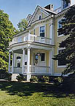 Governor's House bed and breakfast in Hyde Park Vermont serving a full English afternoon tea