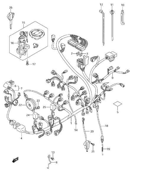 Suzuki Gsx R Fuel Pump Wire Diagram Schematic Diagram