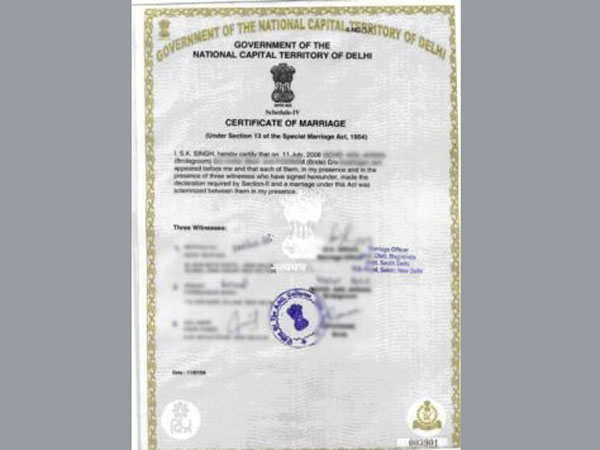 How to apply for marriage certificate Your complete guide - Oneindia - marriage certificate