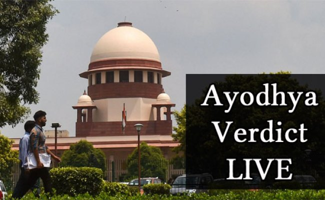 Ayodhya Verdict Live Nation On Alert Sc Judgement At 10 30 Am Oneindia News