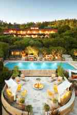 Sumptuous Auberge du Soleil in wine country