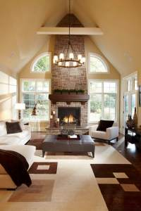 Warm Living Room Color Scheme Pictures to Pin on Pinterest