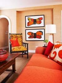 Terracotta Living Room Ideas