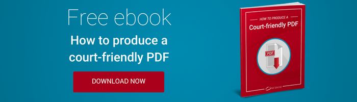 Free ebook: how to produce a court-friendly PDF