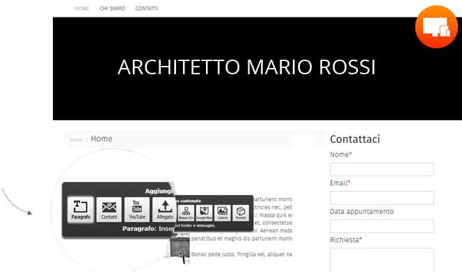 Creare Siti Web Architetti