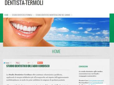 creare un sito per dentisti
