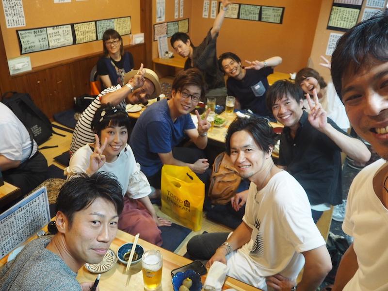 東京から集結!